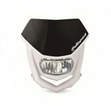 PLAQUE PHARE POLISPORT HALO LED NOIR/BLANC