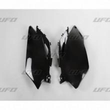 PLAQUES LATÉRALES UFO NOIR HONDA CRF250R/450R