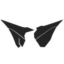 STICKER BOÎTE À AIR BLACKBIRD CARBON LOOK KTM
