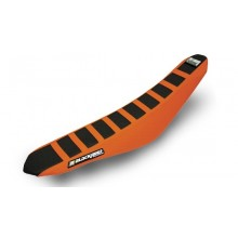 HOUSSE DE SELLE BLACKBIRD ZEBRA NOIRE/ORANGE KTM EXC/F - SX/SX-F