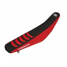 HOUSSE DE SELLE BLACKBIRD DOUBLE GRIP 3 NOIR/ROUGE HONDA