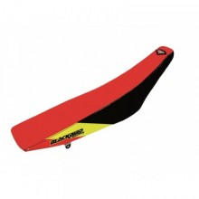 HOUSSE DE SELLE BLACKBIRD DREAM GRAPHIC 3 ROUGE/NOIR SUZUKI RM-Z450