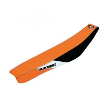 HOUSSE DE SELLE BLACKBIRD DREAM GRAPHIC 3 ORANGE/NOIR KTM SX85