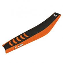 HOUSSE DE SELLE BLACKBIRD DOUBLE GRIP 3 ORANGE/NOIR KTM SX85