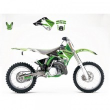 KIT DÉCO BLACKBIRD DREAM GRAPHIC 3 KAWASAKI KX125/250