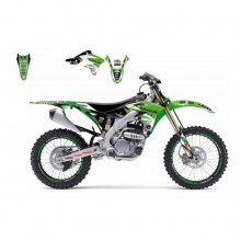 KIT DÉCO BLACKBIRD DREAM GRAPHIC 3 KAWASAKI KX250-F