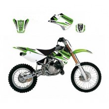 KIT DÉCO BLACKBIRD DREAM GRAPHIC 3 KAWASAKI KX85