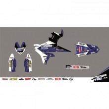 KIT DÉCO CROSS FIRE BLEU KUTVEK YAMAHA YZ450F