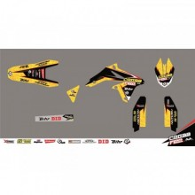 KIT DÉCO CROSS FIRE JAUNE KUTVEK SUZUKI RM-Z250