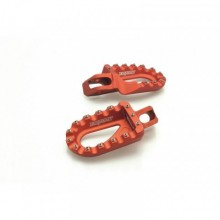 REPOSE PIEDS FACTORY BIHR ORANGE BETA/GAS GAS/HUSABERG