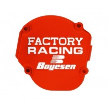 COUVERCLE DE CARTER D'ALLUMAGE BOYESEN FACTORY RACING ORANGE KTM SX125/150 HUSQVARNA TC125