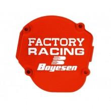 COUVERCLE DE CARTER D'ALLUMAGE BOYESEN FACTORY RACING ORANGE KTM SX125/150 HUSQVARNA TC125