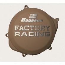 COUVERCLE DE CARTER D'EMBRAYAGE BOYESEN FACTORY RACING ALU COULEUR MAGNÉSIUM KTM SX85