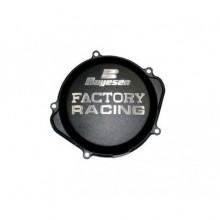 COUVERCLE DE CARTER D'EMBRAYAGE BOYESEN FACTORY RACING ALU NOIR KTM SX-F250/350 HUSQVARNA FC250/350