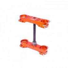 TÉ DE FOURCHE XTRIG ROCS OFFSET Ø22MM ORANGE KTM/HUSQVARNA