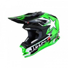 CASQUE JUST1 J32 MOTO X GREEN TAILLE L