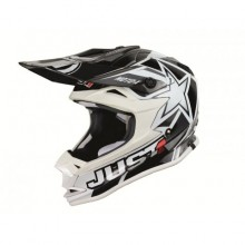 CASQUE JUST1 J32 MOTO X WHITE TAILLE XS