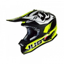CASQUE JUST1 J32 PRO RAVE BLACK/NEON YELLOW TAILLE L