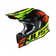 CASQUE JUST1 J12 DOMINATOR RED/NEON LIME TAILLE S