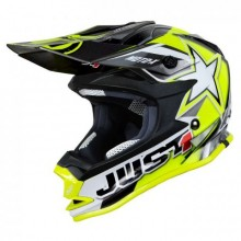 CASQUE JUST1 J32 MOTO X YELLOW TAILLE S