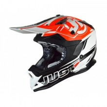 CASQUE JUST1 J32 PRO RAVE BLACK/ORANGE TAILLE L