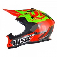 CASQUE JUST1 J32 PRO RAVE RED/LIME TAILLE M