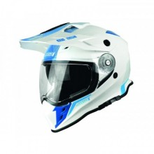 CASQUE JUST1 J34 ADVENTURE SHAPE BLUE NEON GLOSS TAILLE M