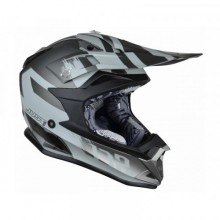 CASQUE JUST1 J32 PRO KICK TITANIUM GLOSS TAILLE S