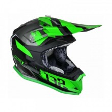 CASQUE JUST1 J32 PRO KICK GREEN/WHITE/TITANIUM TAILLE L