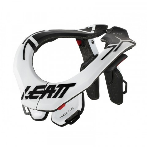 PROTECTION CERVICALE LEATT GPX 3.5 BLANC TAILLE S/M