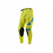PANTALON LEATT GPX 4.5 LIME/BLEU TAILLE XL (US36/EU44)
