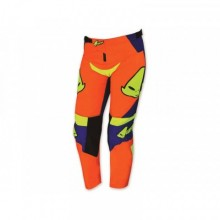 PANTALON UFO REVOLT JUNIOR BLEU/ORANGE TAILLE 8-9