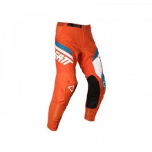 PANTALON LEATT GPX 4.5 ORANGE/DENIM TAILLE L/US34/EU52