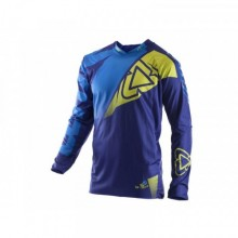 MAILLOT LEATT GPX 4.5 LITE BLEU/LIME TAILLE L
