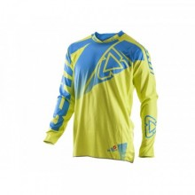 MAILLOT LEATT GPX 4.5 LITE LIME/BLEU TAILLE L