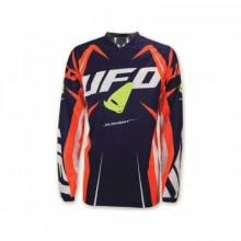 MAILLOT UFO ELEMENT BLEU/ROUGE/JAUNE FLUO TAILLE M