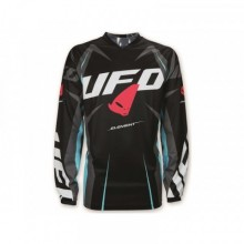 MAILLOT UFO ELEMENT NOIR/TURQUOISE TAILLE M