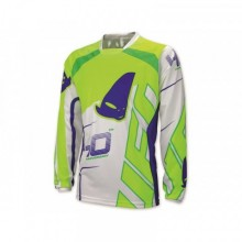 MAILLOT UFO 40TH ANNIVERSARY BLANC/VERT/BLEU TAILLE L