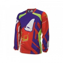 MAILLOT UFO 40TH ANNIVERSARY ROUGE/VERT/BLEU TAILLE XL