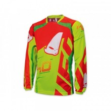 MAILLOT UFO 40TH ANNIVERSARY ROUGE/JAUNE/VERT FLUO TAILLE L