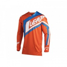 MAILLOT LEATT GPX 4.5 LITE ORANGE/DENIM TAILLE XL