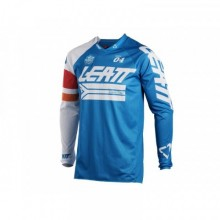 MAILLOT LEATT GPX 4.5 X-FLOW BLEU/BLANC TAILLE M