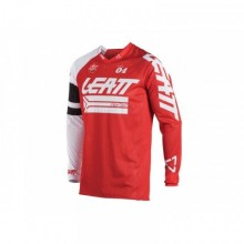 MAILLOT LEATT GPX 4.5 X-FLOW ROUGE/BLANC TAILLE S