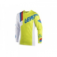 MAILLOT LEATT GPX 5.5 ULTRAWELD LIME/BLANC TAILLE S