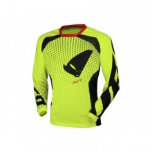 MAILLOT UFO PROTON JAUNE FLUO TAILLE S