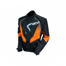 VESTE UFO ENDURO NOIR/ORANGE TAILLE M
