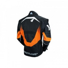 VESTE UFO ENDURO NOIR/ORANGE TAILLE XL