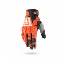 GANTS LEATT GPX 4.5 LITE ORANGE-NOIR-BLANC T.M - 8