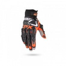 GANTS LEATT GPX 5.5 WINDBLOCK NOIR-ORANGE T.S - 7