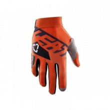 GANTS LEATT GPX 2.5 X-FLOW NOIR/ORANGE TAILLE S (EU7 - US8)